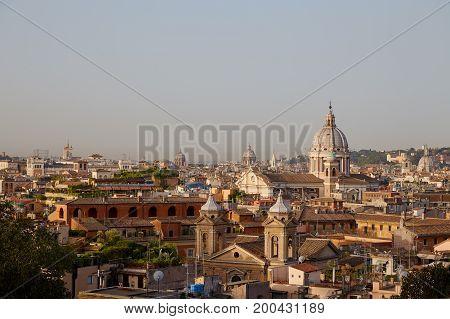 Rome Morning Panorama