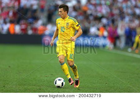 Uefa Euro 2016 Game Ukraine V Poland
