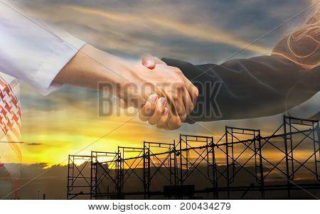 Success, Business, Team, People, Concept, Corporate, Celebration, Background, Building, Up, Successf