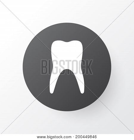 Premium Quality Isolated Dental  Element In Trendy Style.  Teeth Icon Symbol.