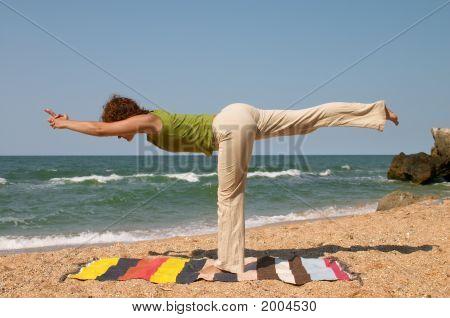 Virabhadrasana Yoga Pose