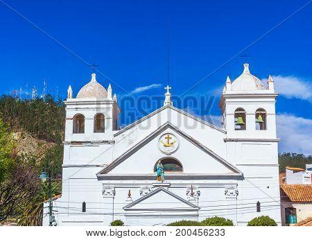 View on La recoleta church in Sucre - Bolivia