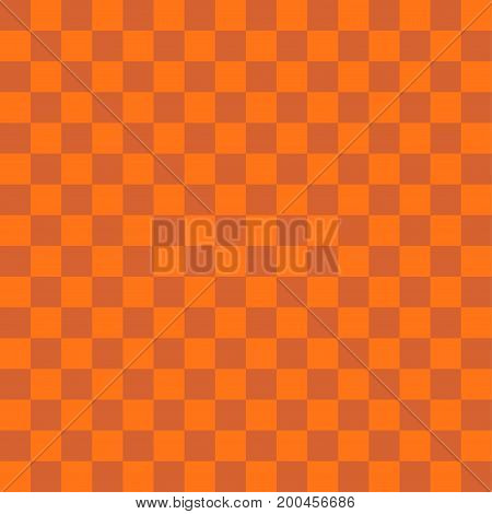 Abstract orange color square background for halloween theme concept. Vector illustration