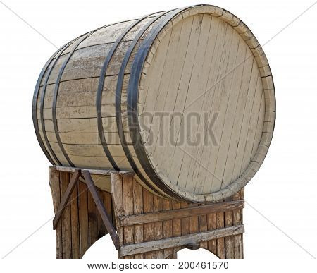 the new barrel over a white background