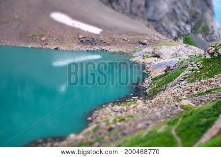 Lake Ala-kul, Kyrgyzstan