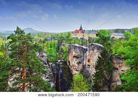 Castles Hruba Skala And Trosky