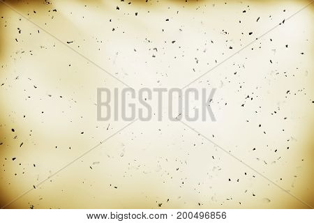 Sepia vintage paper with dust particles background