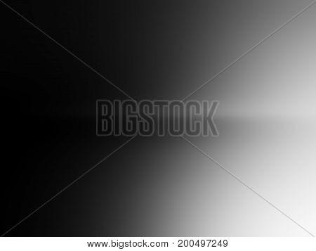 Horizontal black and white light leak background hd