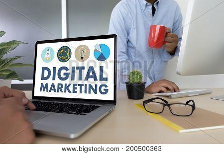 Digital Marketing New Startup Project ,  Market Interactive Channels , Business Innovation Marketing