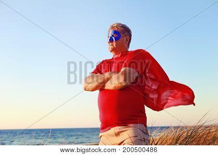 Super hero defender of the universe.