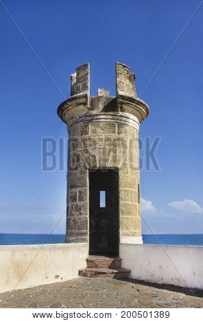 Fort In The Caribbean Sea