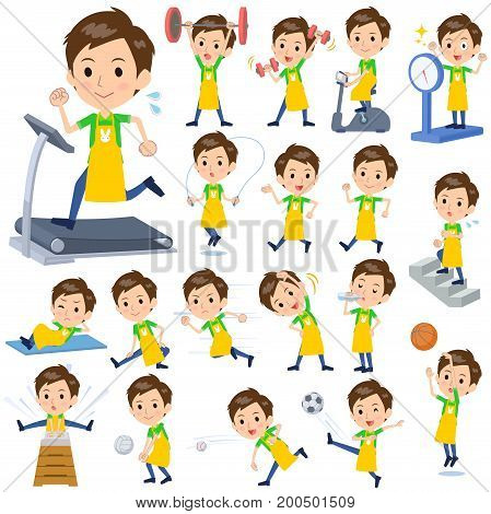 Childminder Men_sports & Exercise