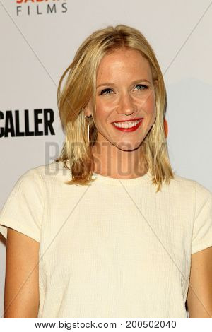 LOS ANGELES - AUG 15:  Jessy Schram at the