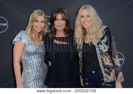 LOS ANGELES - AUG 16:  Andrea Schroder, Kelly Le Brock, Alana Stewart at the