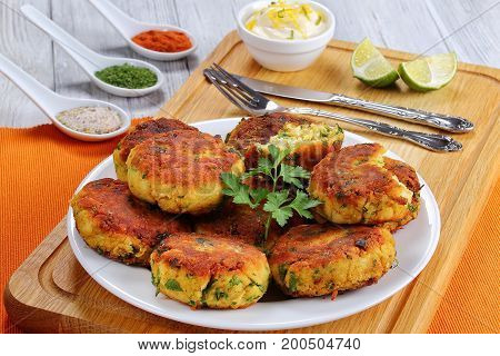 Delicious Fresh Fried Homemade Fish Cakes