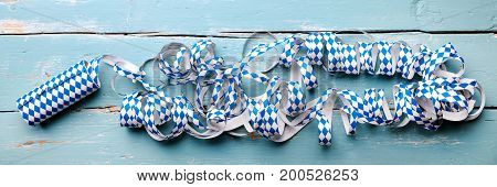 Panorama, Background For Bavarian Theme, Oktoberfest And Funfair