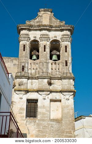 Historical church of Castellaneta. Puglia. Southern Italy.