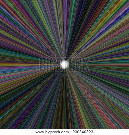 Elegant Twirl Ball For Cool Packaging Background. Color Spectrum. Design Illustration.