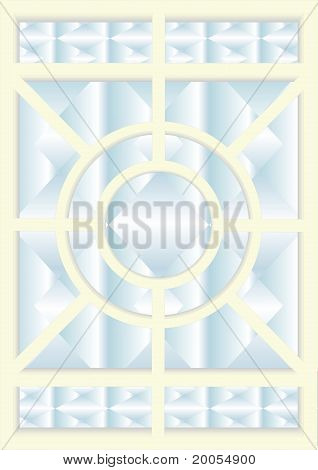 5. Stained-glass windows.