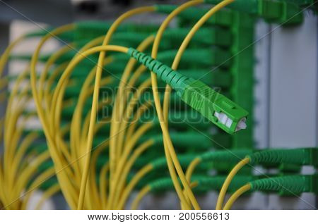 Passive optical network fiber optic access in light