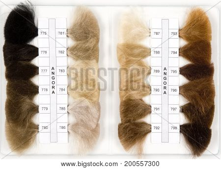 angora; background; beauty; hair; industry; making; nobody; order; production; sale; sample; style; wig