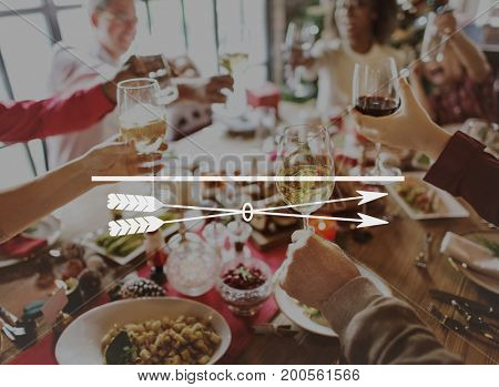 Feasting Dining Seasonal Holiday Food