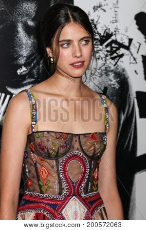 NEW YORK, NY - AUGUST 17: Actress Margaret Qualley attends the 'Death Note' New York premiere at AMC Loews Lincoln Square 13 theater on August 17, 2017 in New York City.