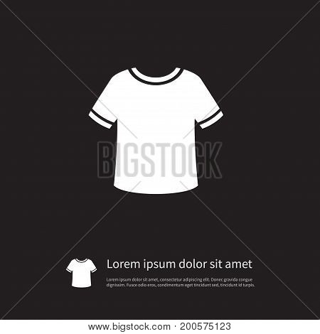 T-Shirt Vector Element Can Be Used For T-Shirt, Fashion, Casual Design Concept.  Isolated Fashion Icon.