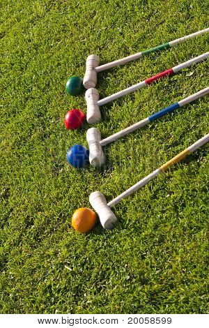 Croquet Family Garden Game