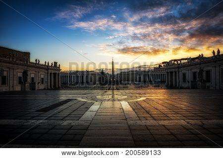 Saint Peters Plaza Sunrise