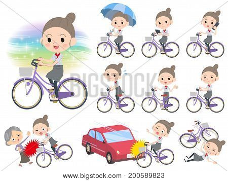 Western Cuisine Cook Women_city Bicycle