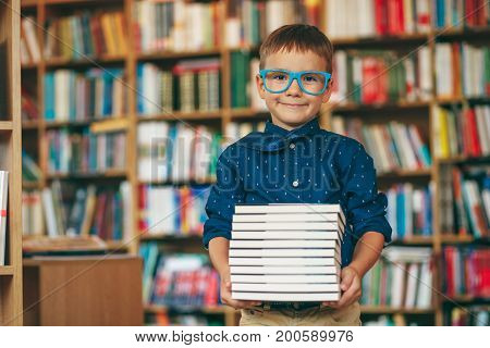 Boy With Glases And Tie