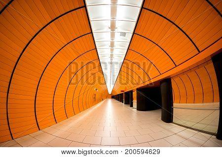 Marienplatz Orange Station