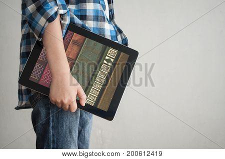 Digital Books In Tablet