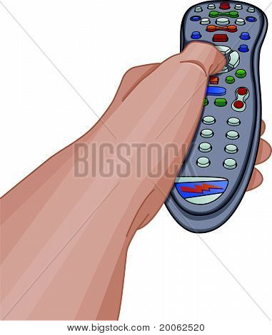 Using The TV Remote