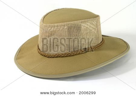 Suede Safari Hat