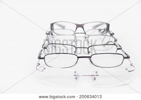 Metal and rimless frames for dioptrical glasses or sunglasses