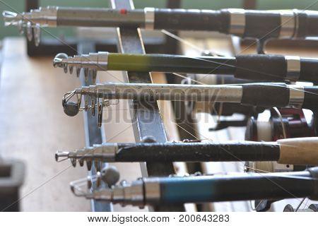fishing equipment's