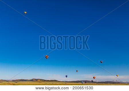 Hot Air Balloon Practice