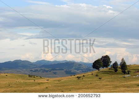 Durmitor National Park in inland of Montenegro, Europe