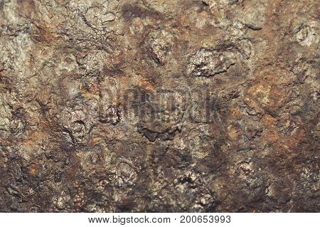 Dark worn rusty metal texture background shabby chic