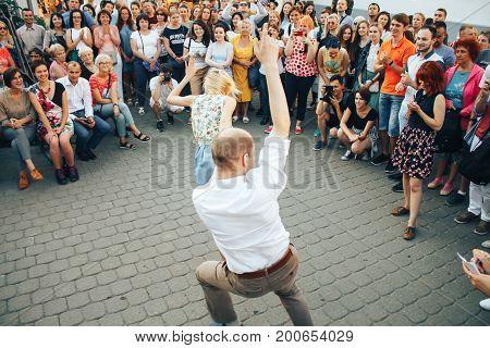 Minsk, Belarus.august 5, 2017.