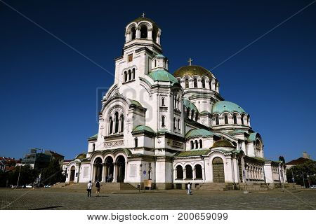 Alexander Nevsky Cathedral is a Bulgarian Orthodox cathedral built in Neo-Byzantine in Sofia, Bulgaria