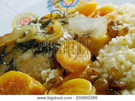 Apricot And Almond Tagine