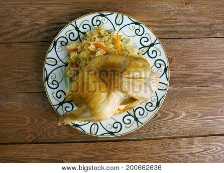 Kabsa - Middle Eastern Food