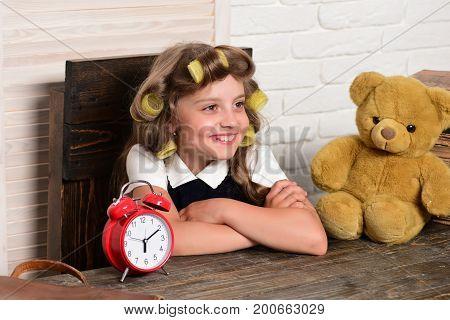 Little Baby Secretary With Bear