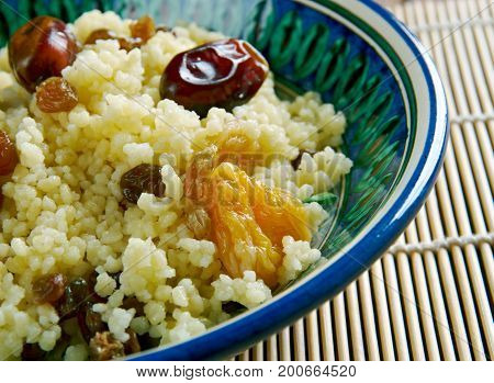 Mauritania Dish  Couscous