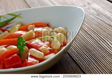 Lupia Plaki - Armenian White Bean Plaki . Armenian Meza