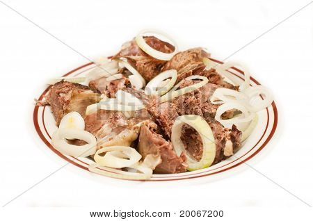 Meat With Onion And Spices