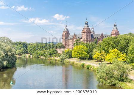 Frankfurt Johannisburg palace, Aschaffenburg Germany